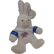 Dundee CCS Stars Mumbles Bunny in Rugby Shirt