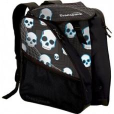 Transpack Ice Blue Skull Skate Bag
