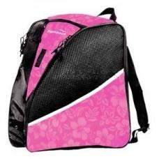 Transpack Ice Pink Floral Skate Bag