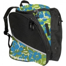 Transpack Ice Lime/Aqua Floral Skate Bag