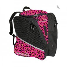 Transpack Ice Pink/Orange Leopard Skate Bag